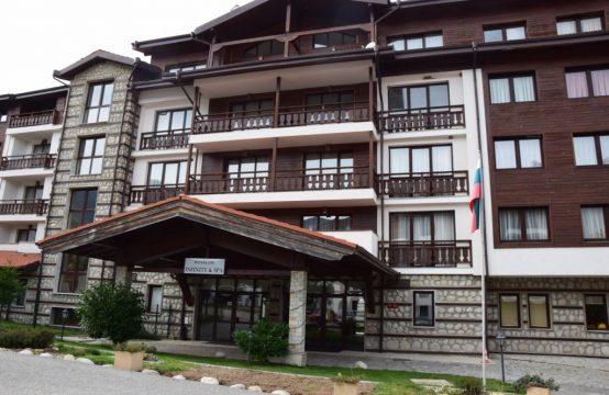 Elegante 1-Zimmer Wohnung zum Verkauf in Winslow Infinity & Spa, Bansko